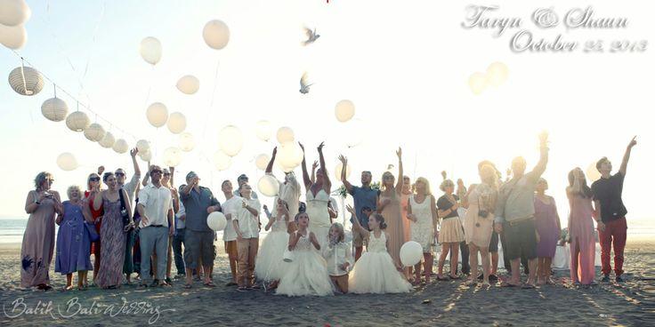 dove & balloon release
