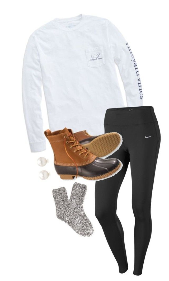 """""""Excited to spend a week with some pretty amazing people!!"""" by annahbirch ❤ liked on Polyvore featuring interior, interiors, interior design, home, home decor, interior decorating, Vineyard Vines, NIKE, L.L.Bean and Forever 21"""