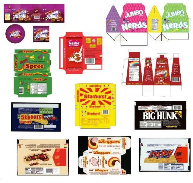 Miniature Printables - Assorted Candies 4.