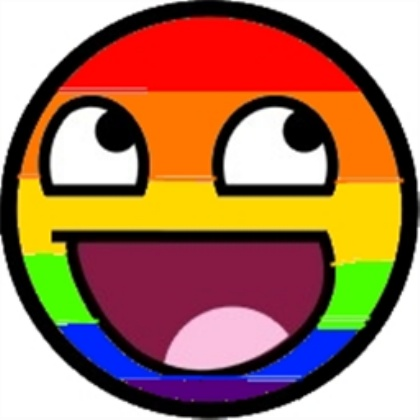 Epic Faces Rainbow Smiley For A Decal By
