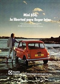 mini cooper advert