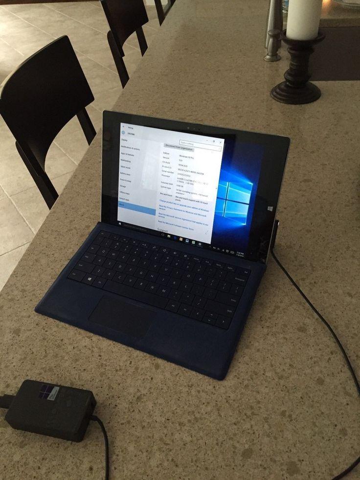 Microsoft Surface Pro 3 256GB Wi Fi 12 3in Silver Intel Core i7 8 GB RAM | eBay