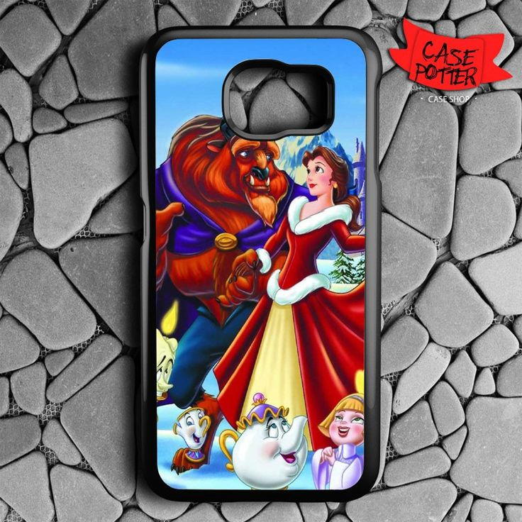 Beauty And The Beast Christmas Samsung Galaxy S7 Black Case