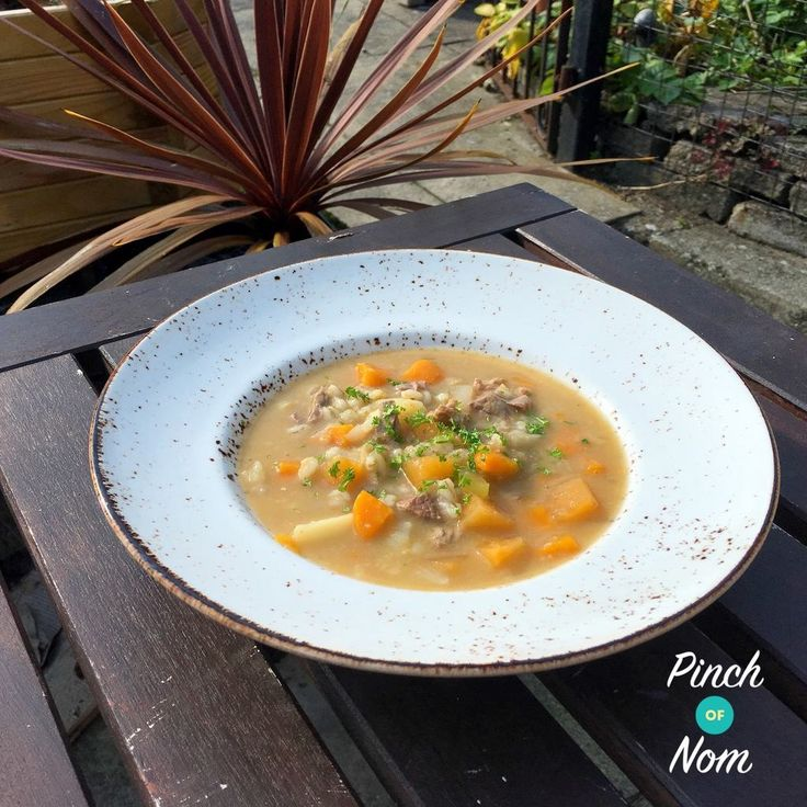 With summer over and winter fast approaching it's time to start thinking about those all important slow cooker recipes. This Syn Free Scotch Broth is super easy to prepare, you can just chuck it in the slow cooker and forget about it until you're ready. Perfect if you're out all day and want something filling…