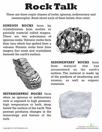 32 Best Science Sedimentary Igneous Metamorphic Rocks Images On