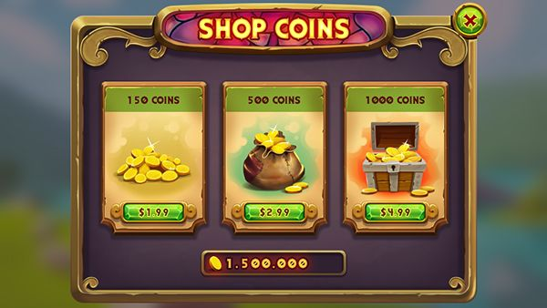 Shop Coins on Behance