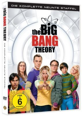 The Big Bang Theory - Staffel 9 (DVDs)