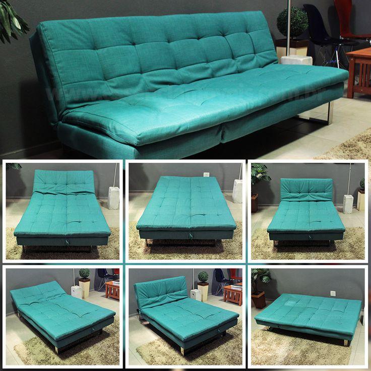 25 melhores ideias sobre sof cama no pinterest div for Sofa cama dos camas