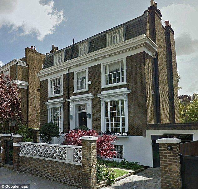 £10 million West London house.