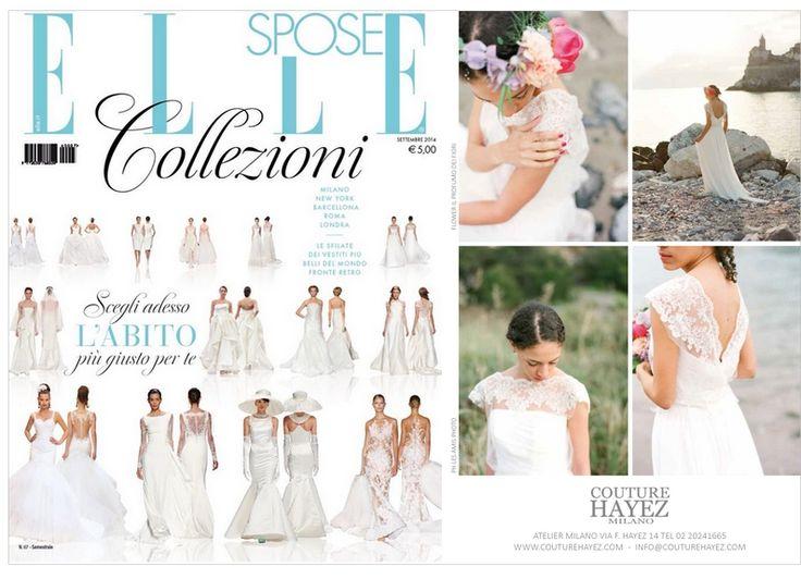 Couture Hayez è su Elle Spose Collezioni..con le bellissime immagini di Les Amis Photo e le stupende creazioni Floreali di Il Profumo dei Fiori .. scopri tutta la collezione http://www.couturehayez.com/index.html