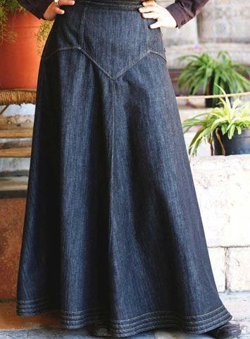 Denim Dream Skirt, $64.95, Shukr...no 2xl, but maybe either they'll restock or I'll be an xl by the time I can afford it.  I'm an xl everywhere else, but Shukr runs small!