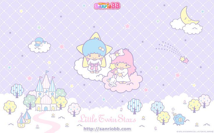 Little Twin Stars Wallpaper 2013 五月桌布 日本 SanrioBB Present