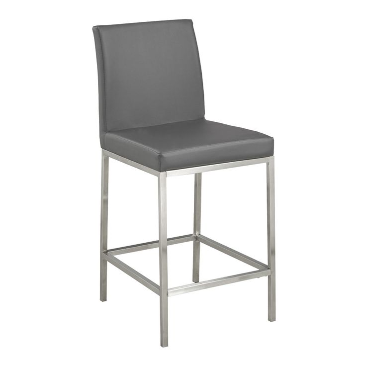 Shop Home Gear  Hermes Faux Leather Counter Stool at Lowe's Canada. Find our selection of bar stools at the lowest price guaranteed with price match + 10% off.