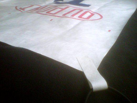 Tyvek 4 X 8 Foot Ground Cloth w/ TIE OFF LOOPS