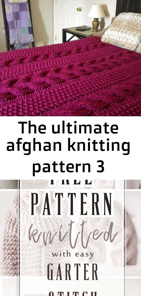 Super Mega Chunky Afghan With Thick Gorgeous Cables This Is A