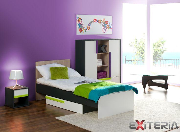 Inšpirácia pre modernú študentskú izbu  Kids / student bedroom