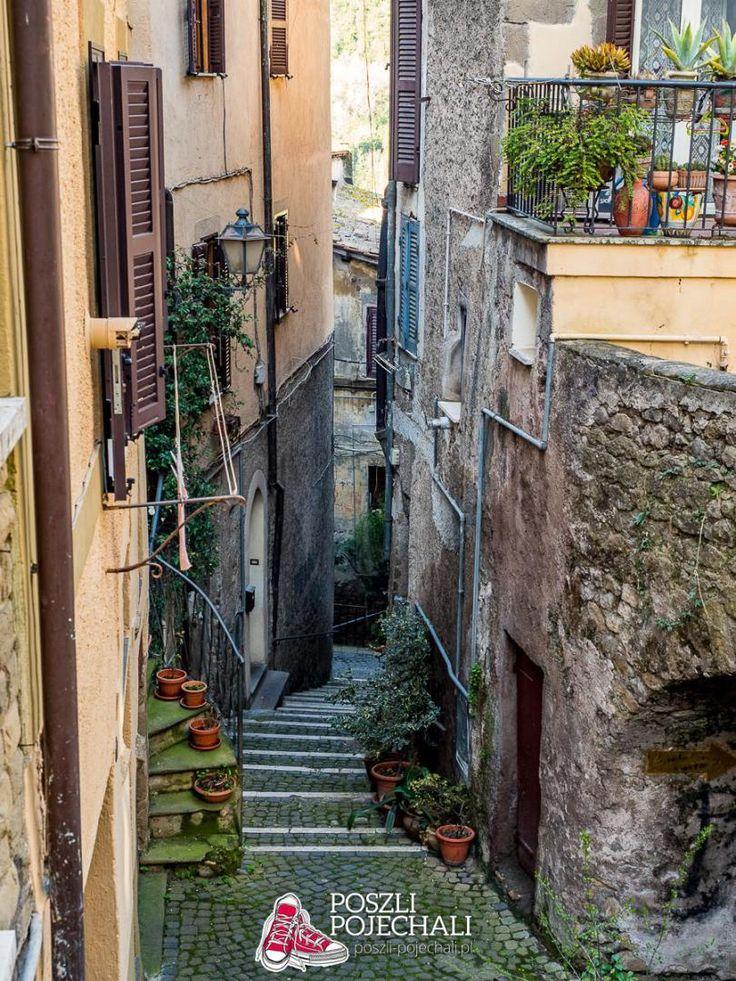 Genazzano, Lazio, Italy  #travel #italy #lazio #lacjum #włochy #romecountryside #italiancities