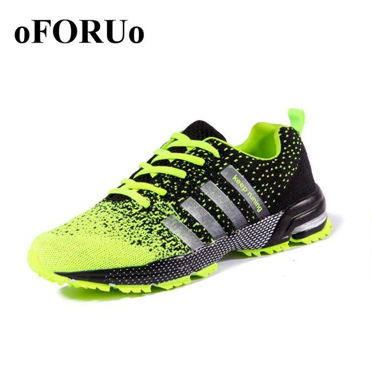 Pasang baru pria Mesh Bernapas Sepatu Lari Sepatu Pria Datar sneakers Lace Up Nyaman Sepatu Wanita Pecinta Sepatu Olahraga 108