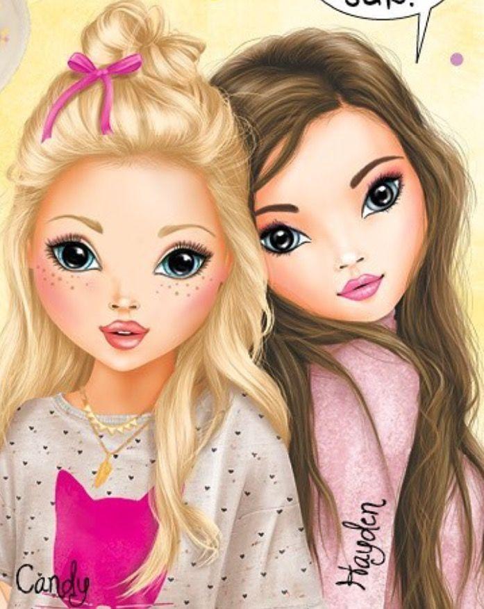 Candy hayden top model en 2019 bff drawings best - Photo de dessin top model ...