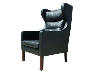 machine age borge mogensen highback armchair by svend skipper modern chairbarber