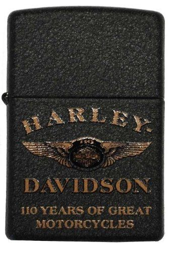 Harley-Davidson? Limited Edition 110th Anniversary Zippo Lighter. 15A-28417 | CollectableZippos.com #Zippo #HarleyDavidson