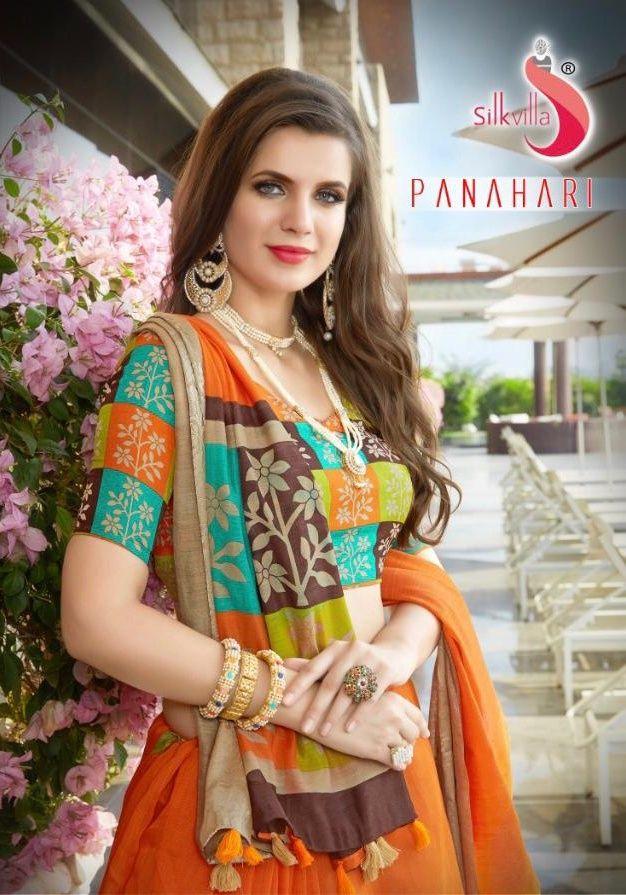 c87a9cf718 KAPDAVILLA👉 Silkvilla panahari cotton printed saree catalogue surat  supplier at Wholesale Price   Keeping India's Tradition