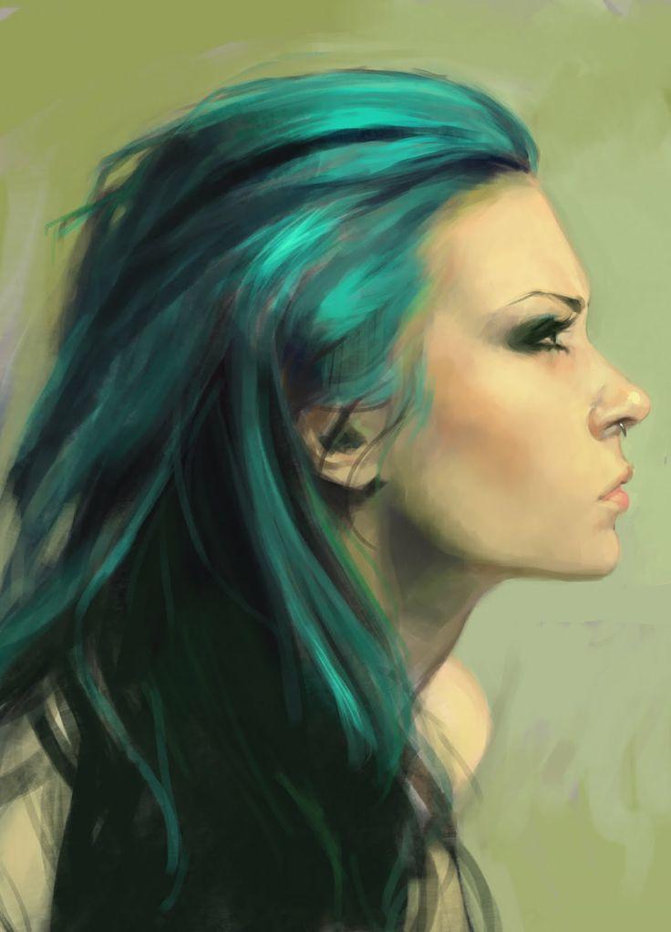 Karou from Daughter of Smoke & Bone by Laini Taylor