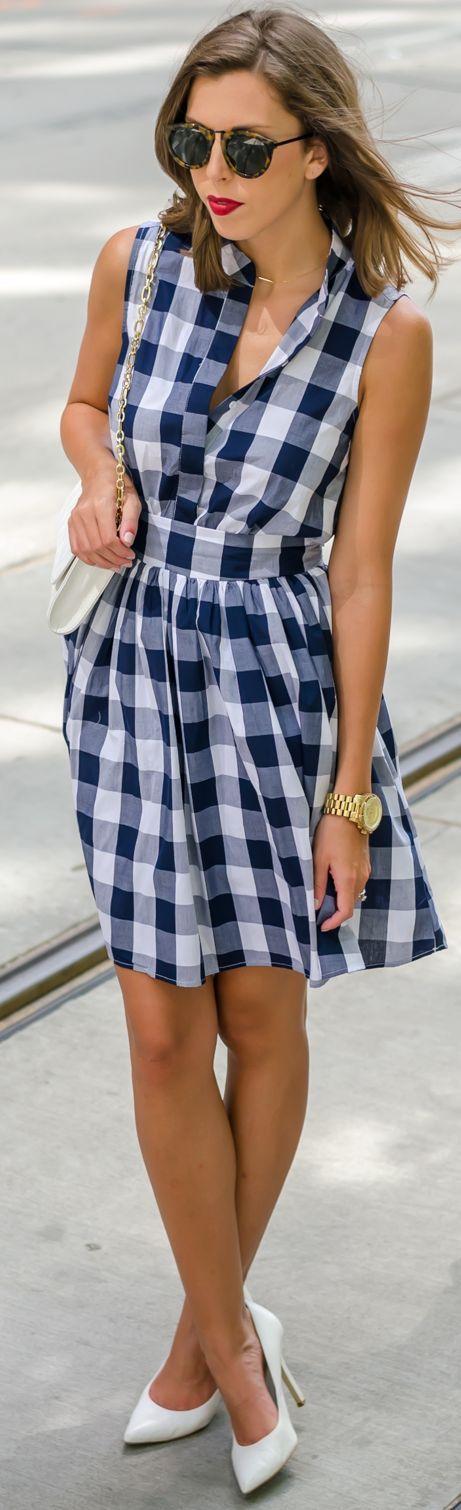 Sabe o vestidinho xadrez da festa junina? Olha ele aí super sytle