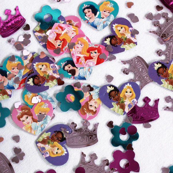 Des confettis originaux de princesse