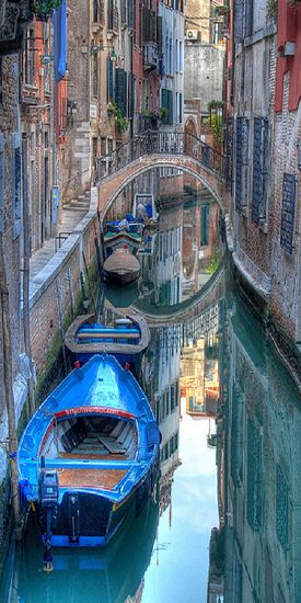 Venice, Italy - Even though I've already been here, I can't wait to go back. The most alluring and magical place I think I have ever been to.
