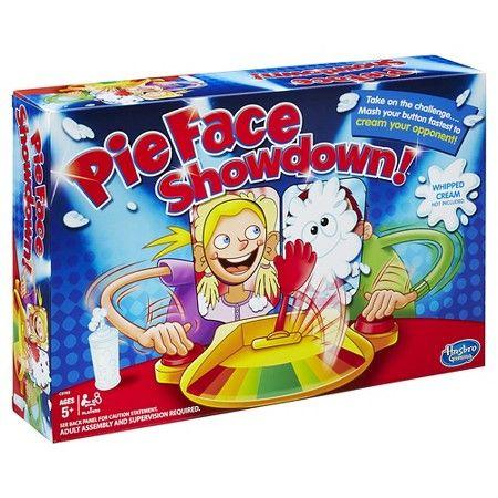 Pie Face Showdown Game : Target