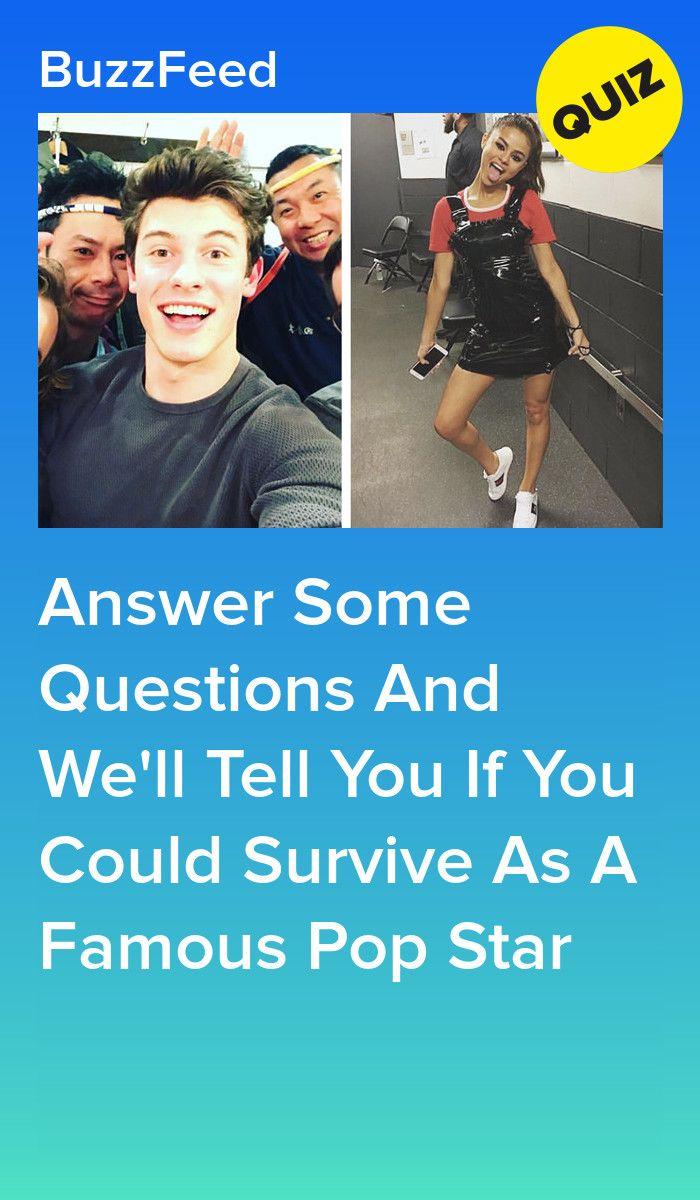 Can You Survive A Day As A Famous Pop Star Boyfriend Quiz Quizzes For Fun Fun Quizzes