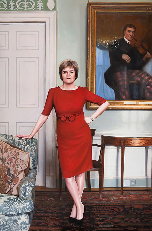 Nicola Sturgeon the only one with a plan. She's a bloody class act. HL