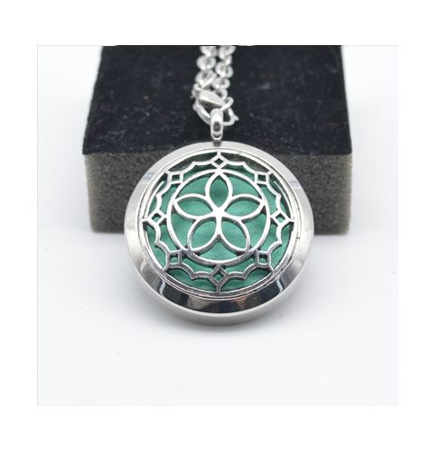 Aromatherapy Essential Oil Diffuser Necklace                                                                                                                                                                                 More