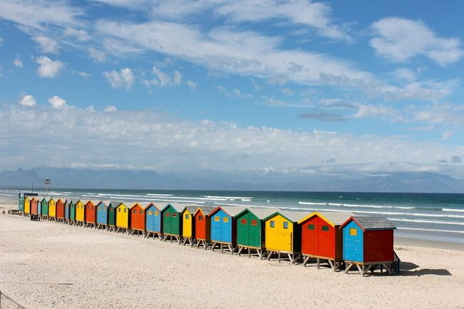 Muizenberg Beach. AFAR Highlight by Marie Frei. #travel #CapeTown #SouthAfrica