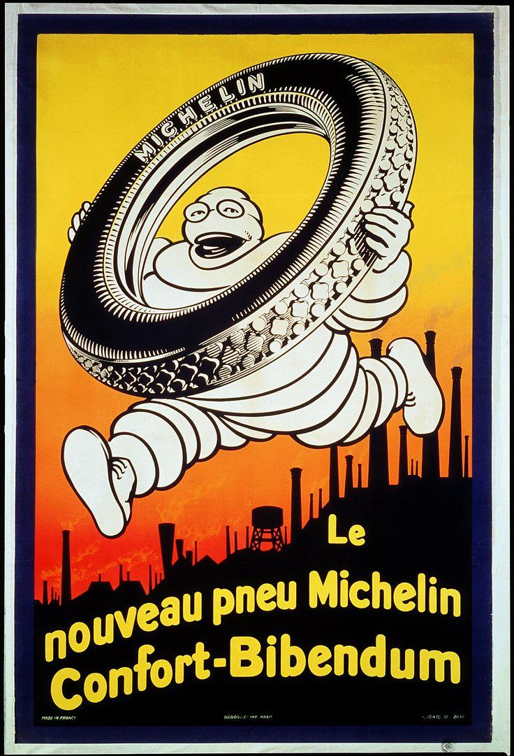Michelin Man ad, 1926