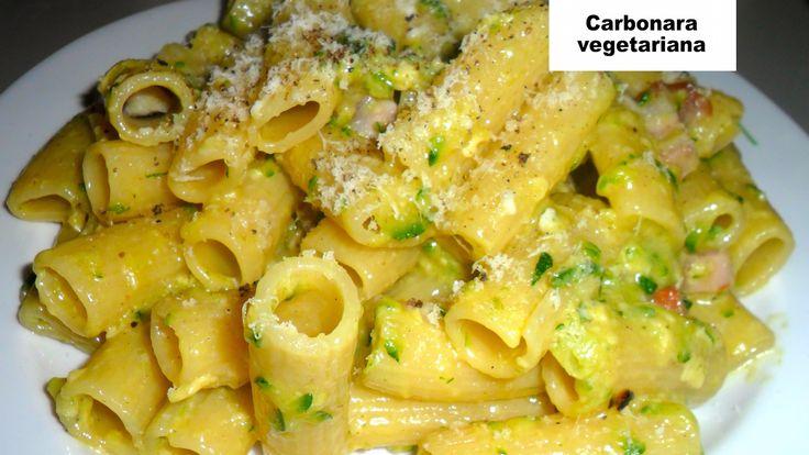"""Vegetarian """"carbonara"""" pasta - I Love Italian Food"""