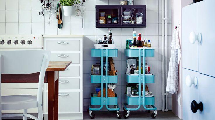 Bien meubler une toute petite cuisine photos et cuisine for Petite cuisine idee rangement