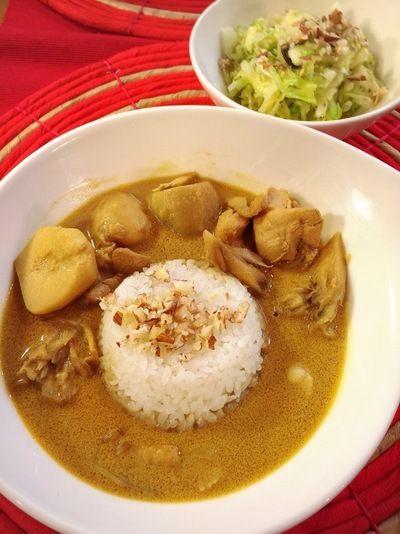 鶏と里芋のココナッツミルクカレー by キーナートきょうこさん ...