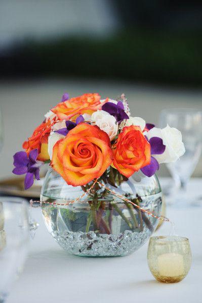Orange Wedding Flowers Wedding Flowers Photos on WeddingWire