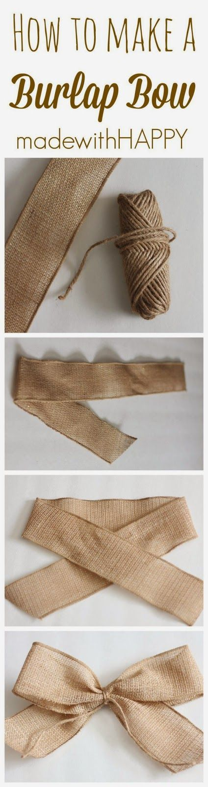 Sue - How to Make a Bow in any fabric. So easy even you can do it.