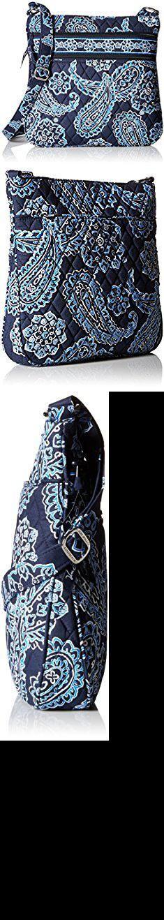 Vera Handbags. Vera Bradley Triple Zip Hipster Cross Body Bag, Blue Bandana, One Size.  #vera #handbags #verahandbags