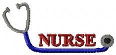 Free Nurse Stethoscope 4x4 | FREE | Machine Embroidery Designs | SWAKembroidery.com Oma's Place