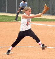 Pitching drills for girls with 1-2 years of experience.
