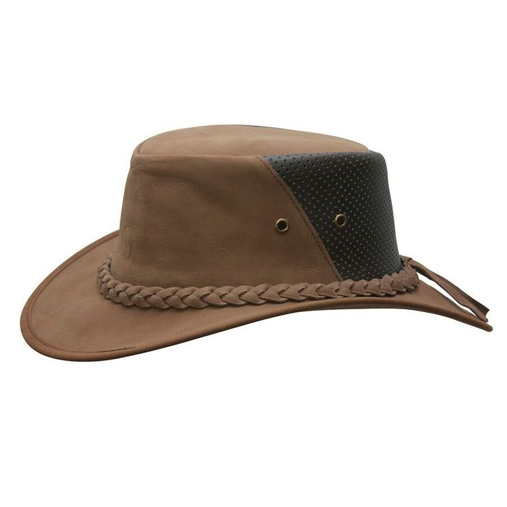 Cowboy western style leather outback down under breezer