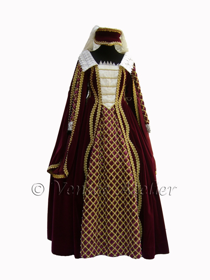 how to create a medieval costume