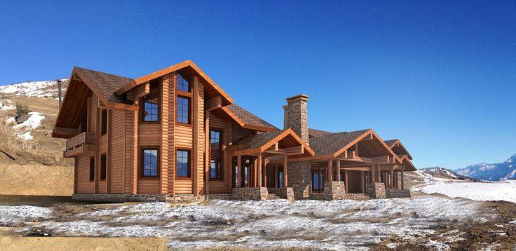 Проект отеля в высокогорье Осетии