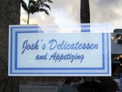 The Early Word on Josh's Delicatessen - Thank y ou Eater