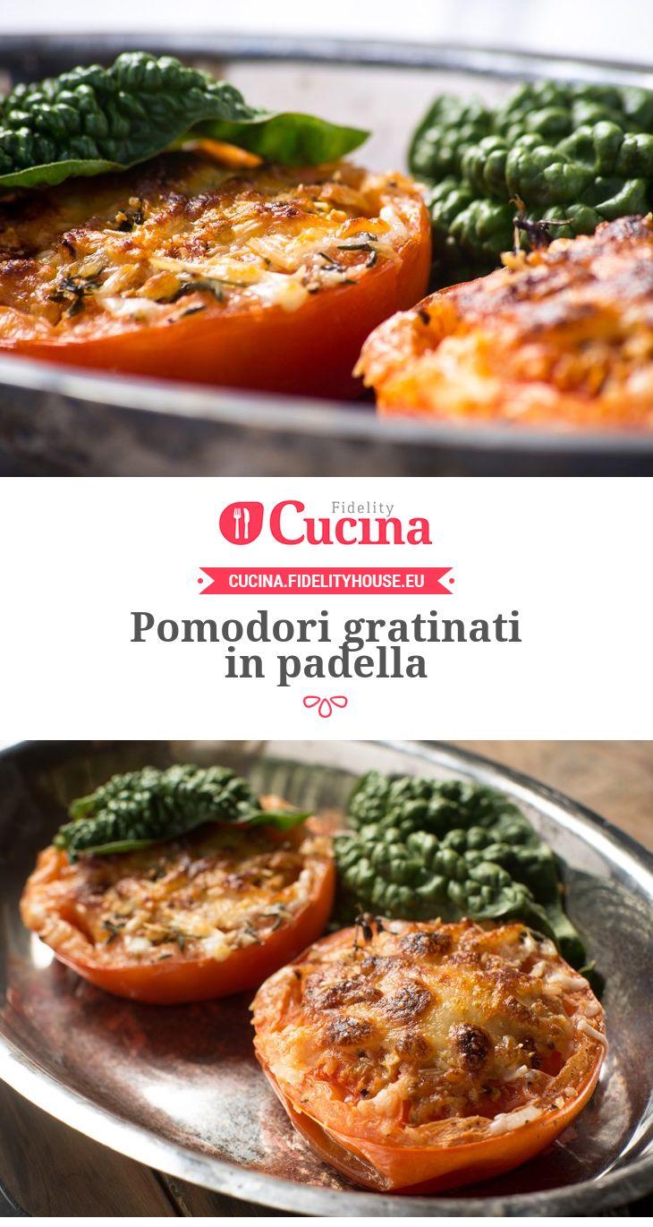 #Pomodori gratinati in padella