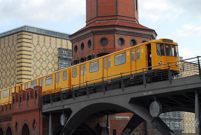 U-Bahn train, Berlin